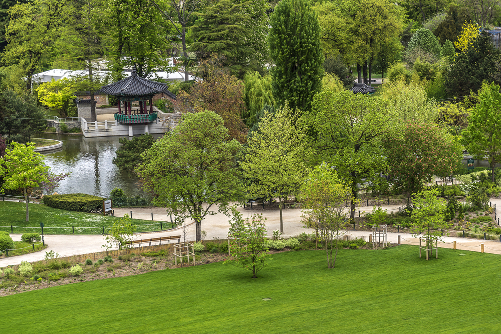 Paris garden Bois de Boulogne