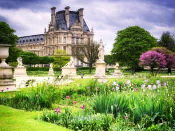 Paris parks Tuilleries Garden