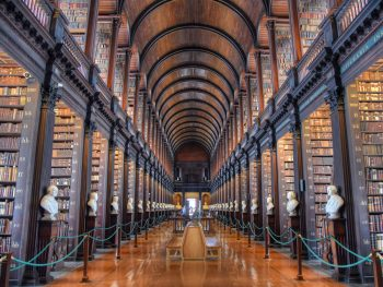 Dublin in 3 days the historia Long Room Library