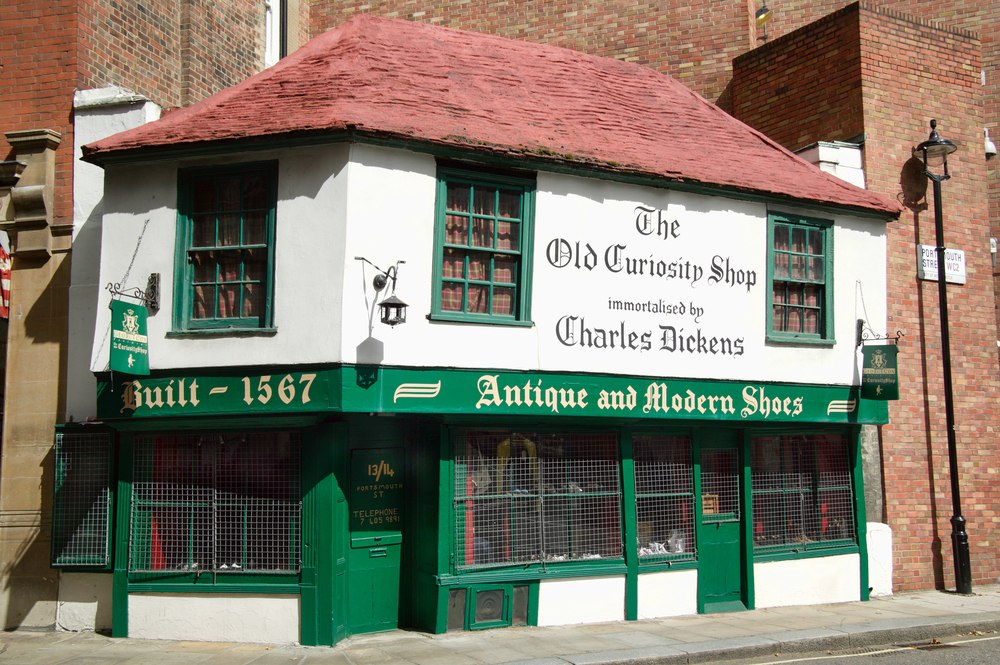 The Old Curiosity Shop could have been Charles Dickens' inspiration for his book of the same name.