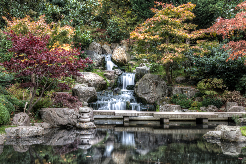 Hidden Gems in London this magnificent Kyoto Gardens
