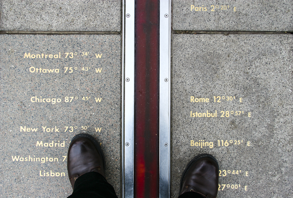 Hidden gems in London standing on both sides of the Greenwich Meridian