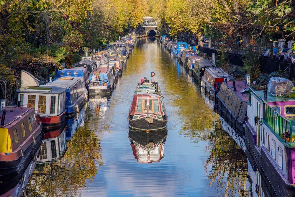 Hidden gems in London Little Venice district