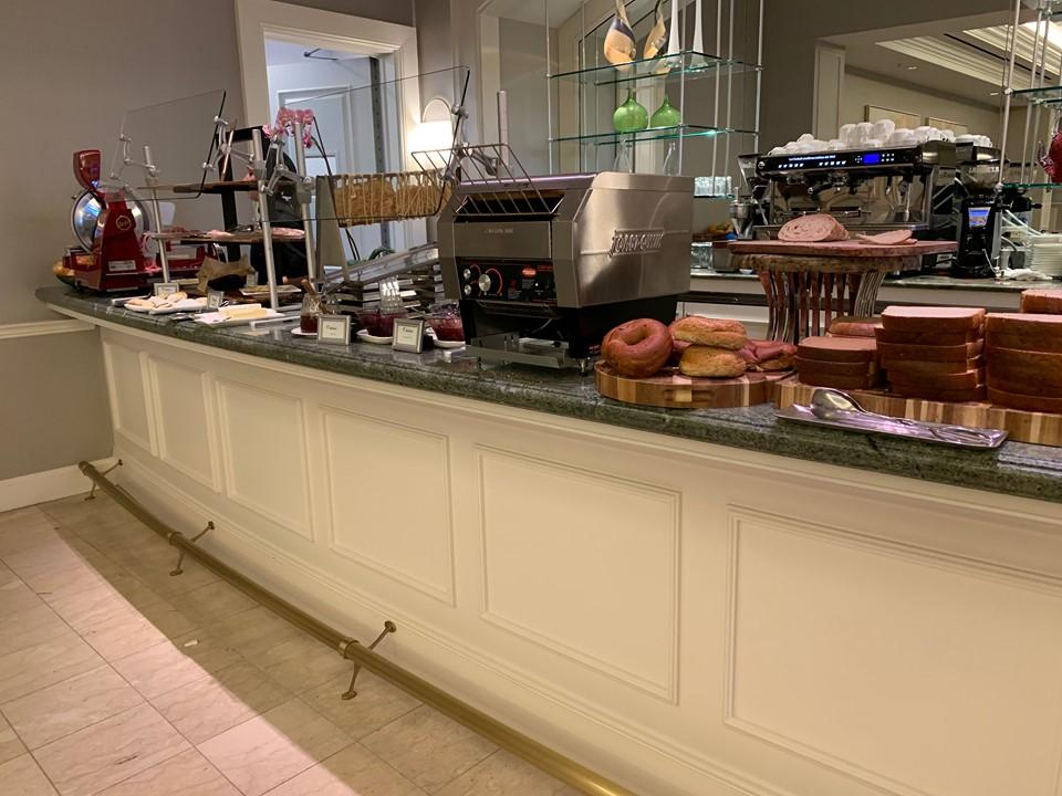 Waldorf Astoria Orlando Oscar's breakfast