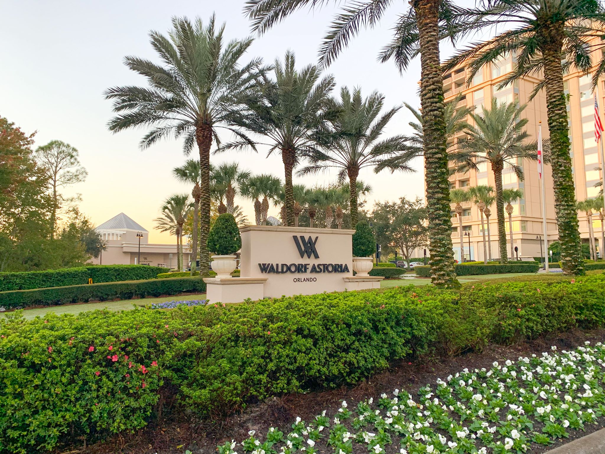 Waldorf Astoria Orlando front entry