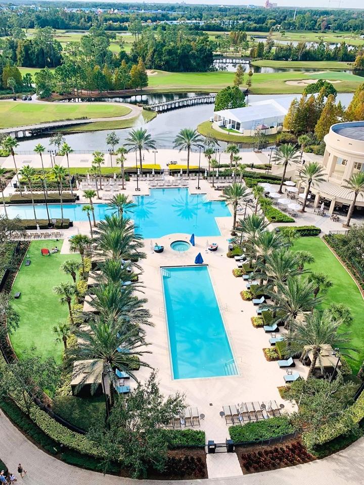 Waldorf Astoria Orlando pool complex
