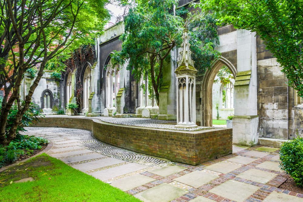 During 5 days in London see St Dunstan in the East