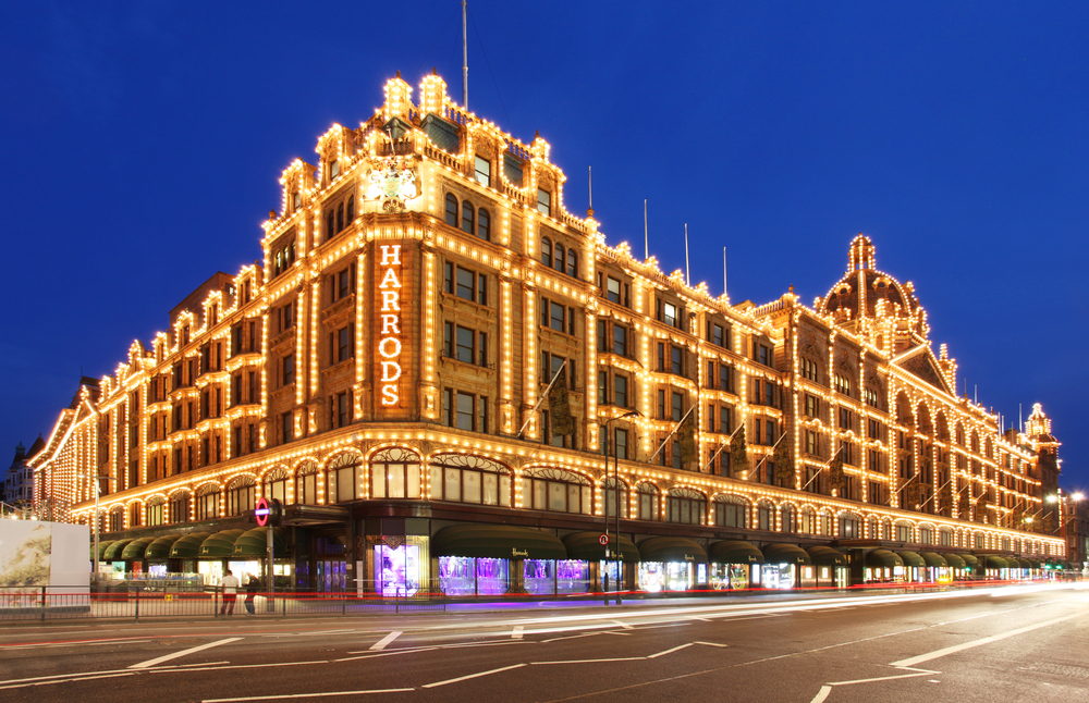 Do not miss visiting Harrods Department store on your London itinerary