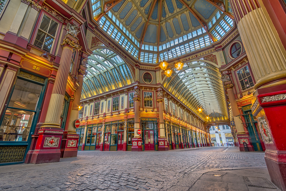 Your London itinerary should include Leadenhall market