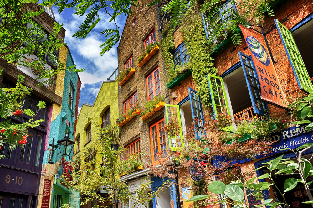 Neal's Yard is very interesting to see when you are spending 5 days in London