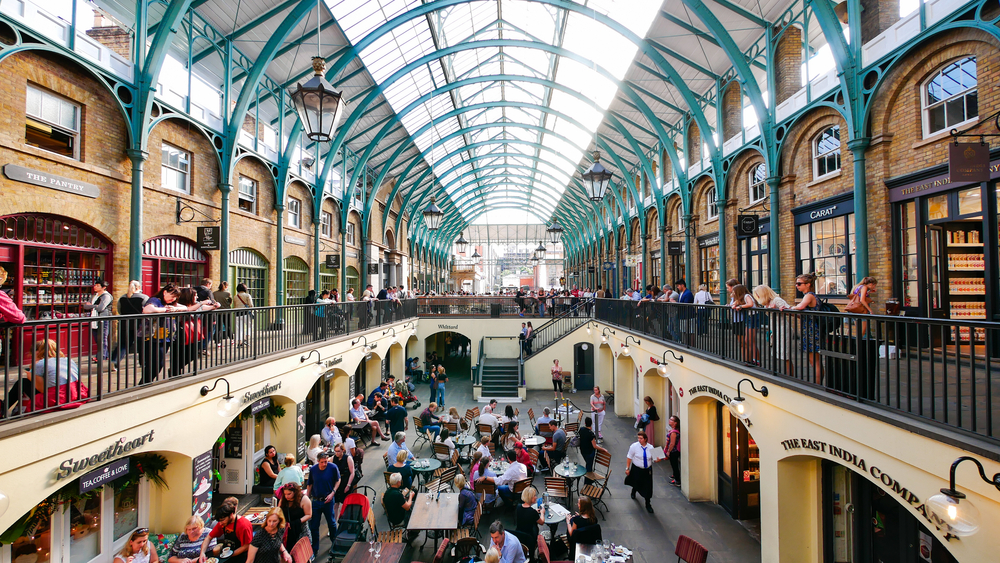 During 5 days in London shopping at Covent Garden is a must!