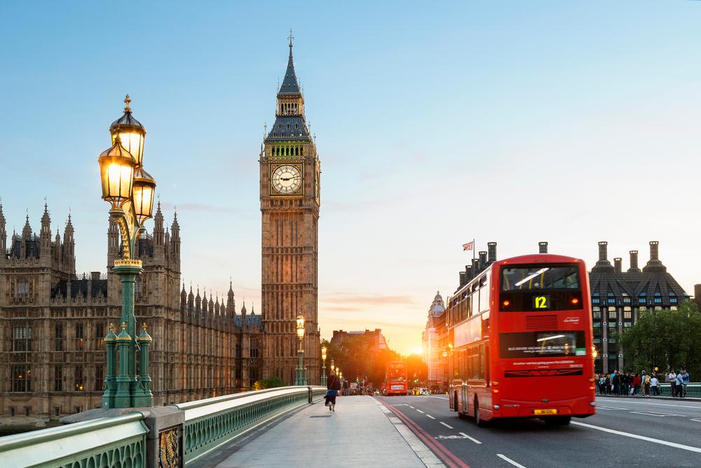 5 days in London sunrise