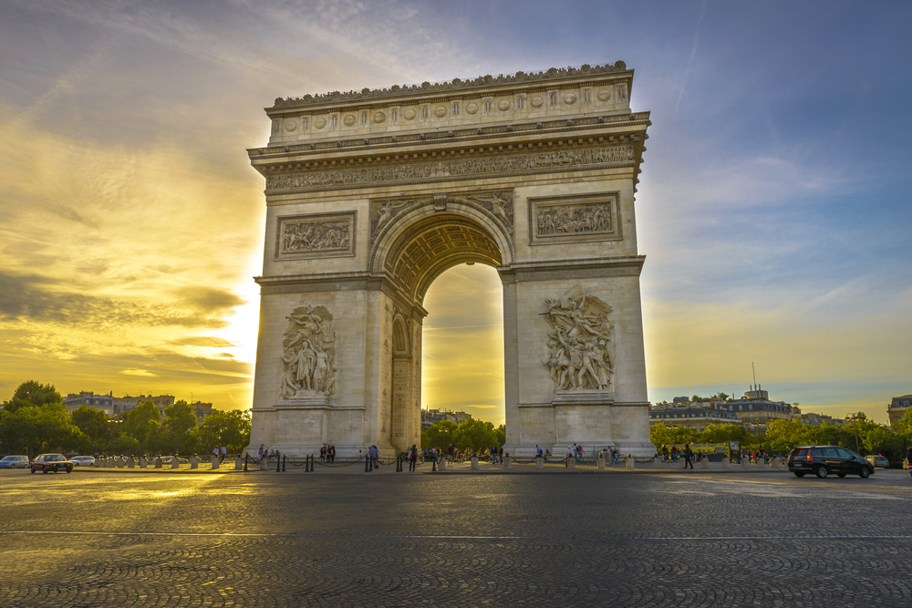 3 Days in Paris is time for visiting the Arc de Triomphe
