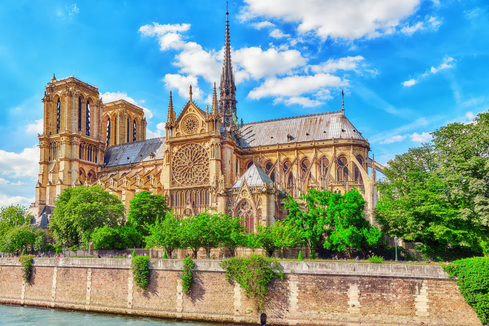 Visit Notre Dame Cathedral during your 3 days in Paris