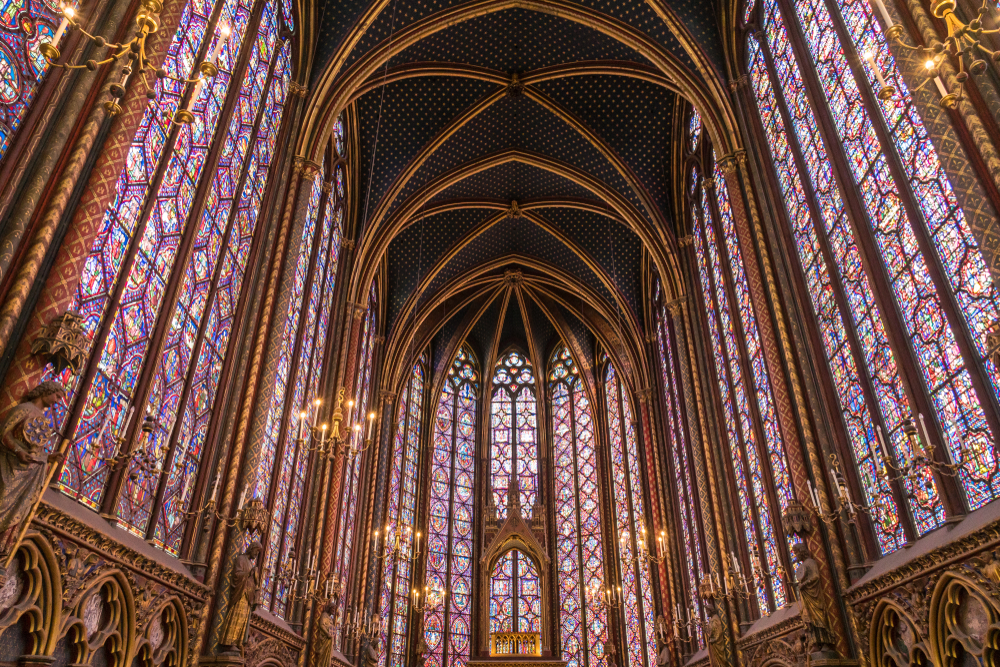 3 days in Paris would not be the same without seeing Sainte Chapelle
