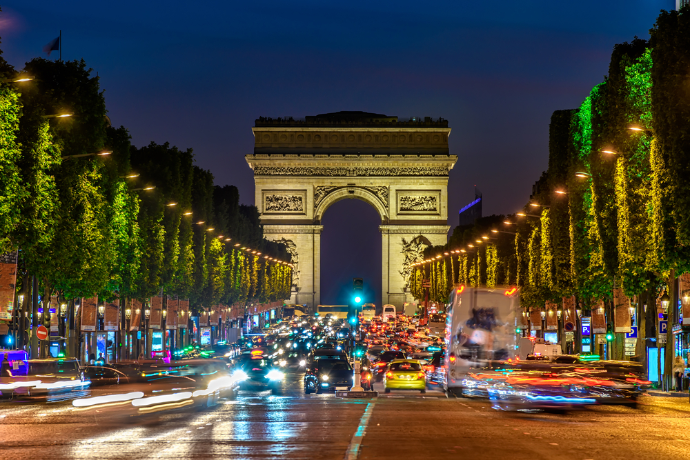 Your 3 days in Paris itinerary should include a visit to the champs Elysees
