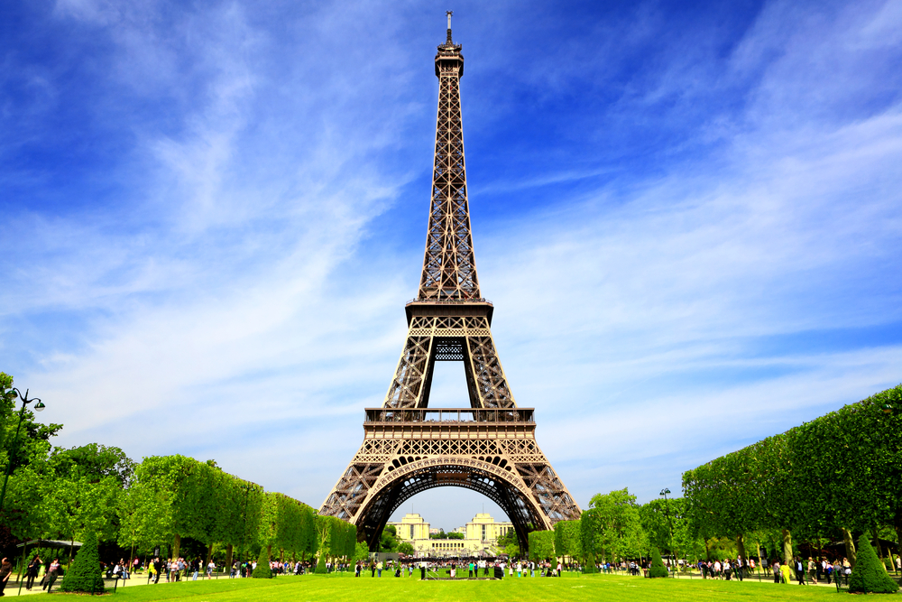 the Eiffel Tower is the symbol of your Paris London trip