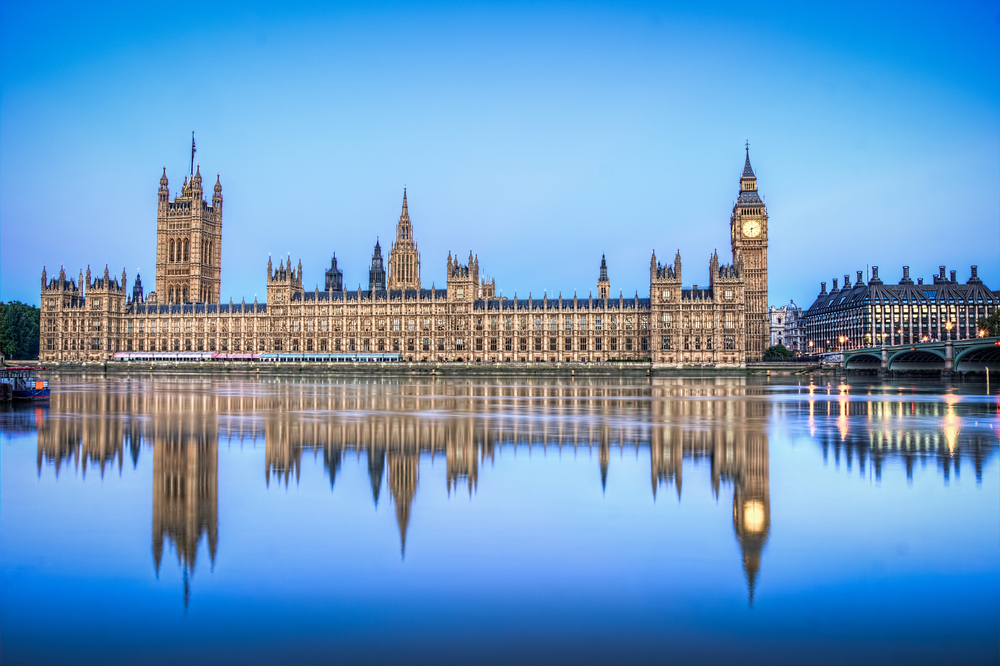 Parliament Big Ben London and Paris itinerary