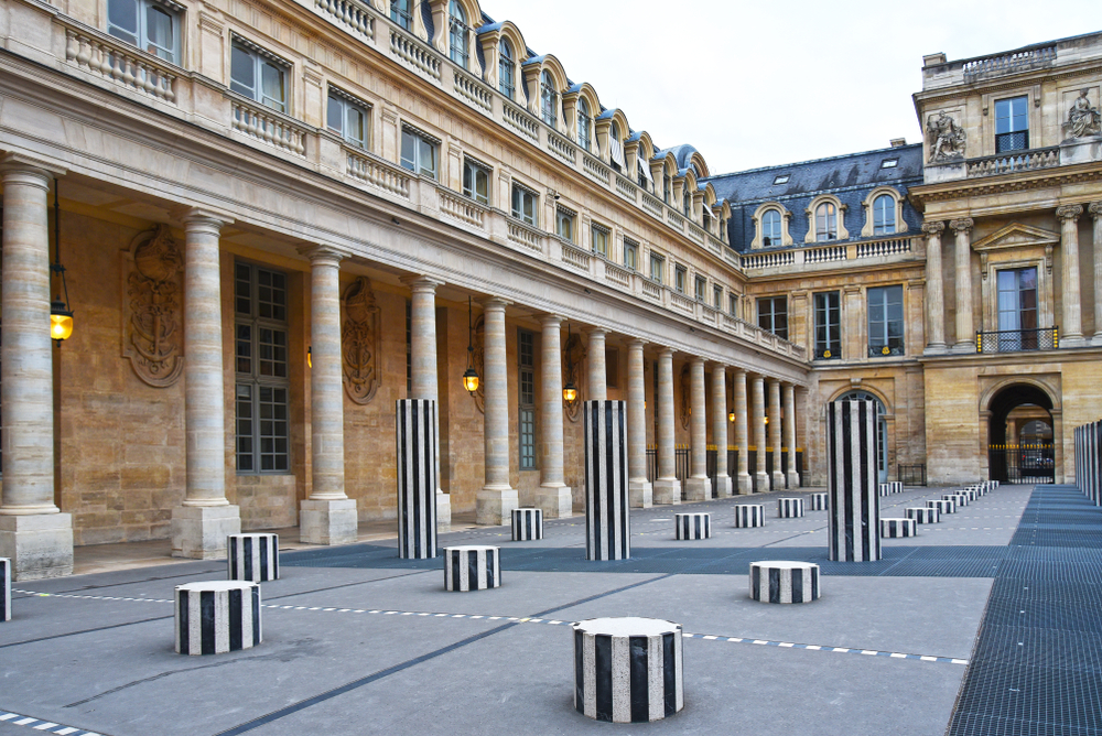 Paris and London have great options like this Le Deux Plateaux Art Installation