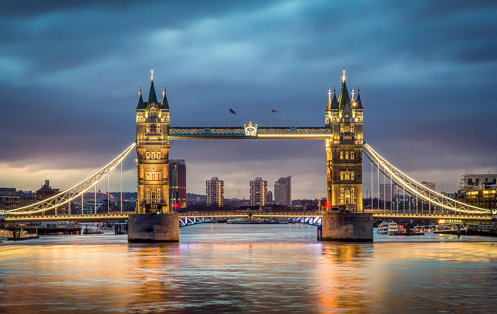 Paris London trips must include a visit to the Tower Bridge