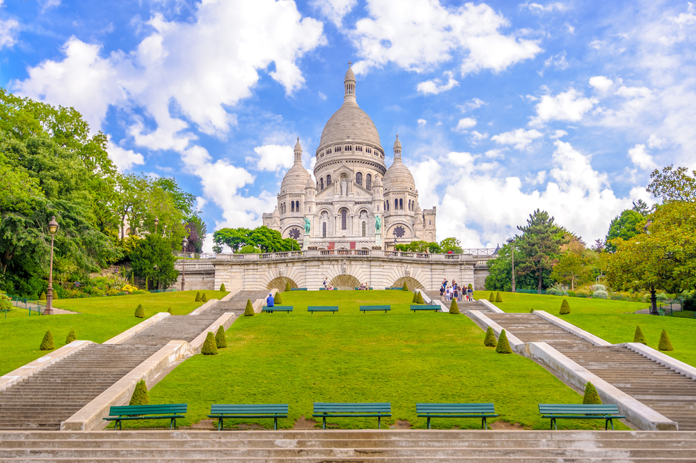 Paris and London should include a visit to Montmartre
