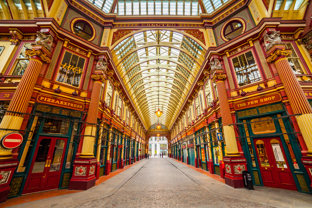 Visit Leadenhall Market on you Paris and London trip