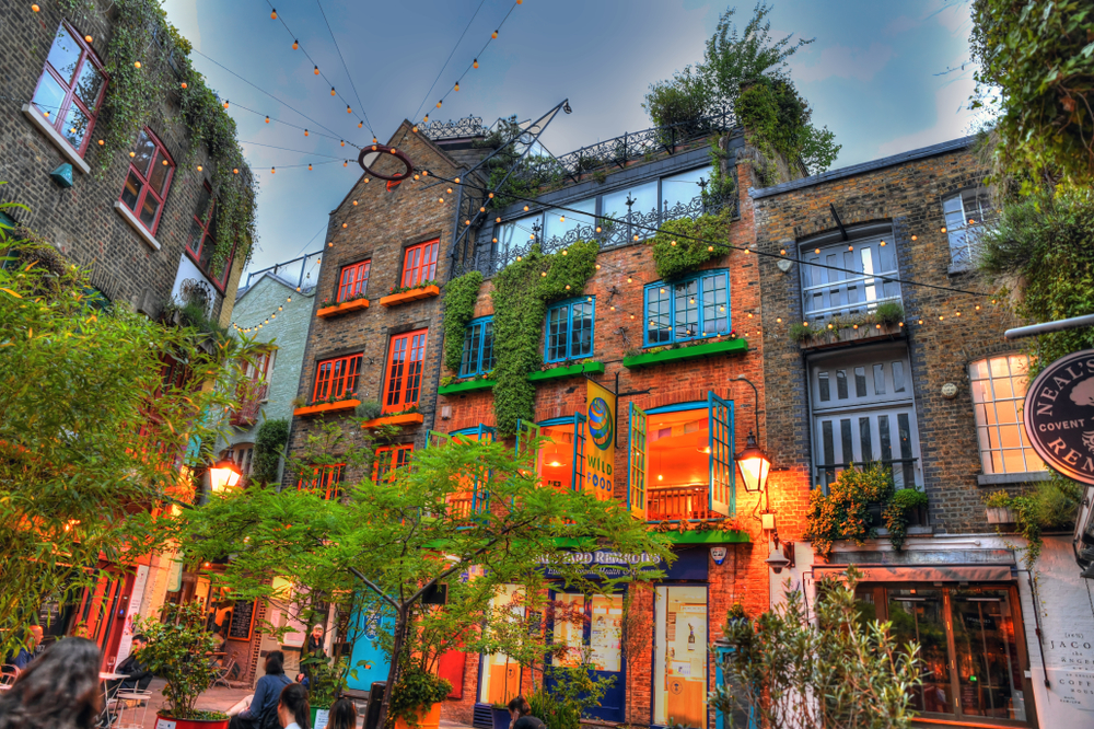 London and Paris should include a stop at Neal's Yard
