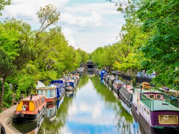 On your London and Paris trip stop by Little Venice