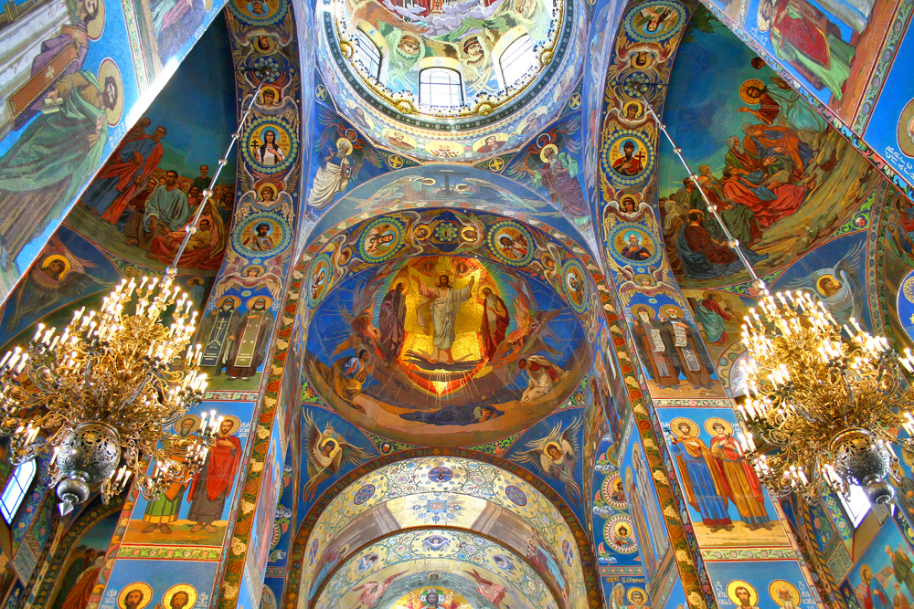 Visit Church of the Spilt Blood when traveling to Russia