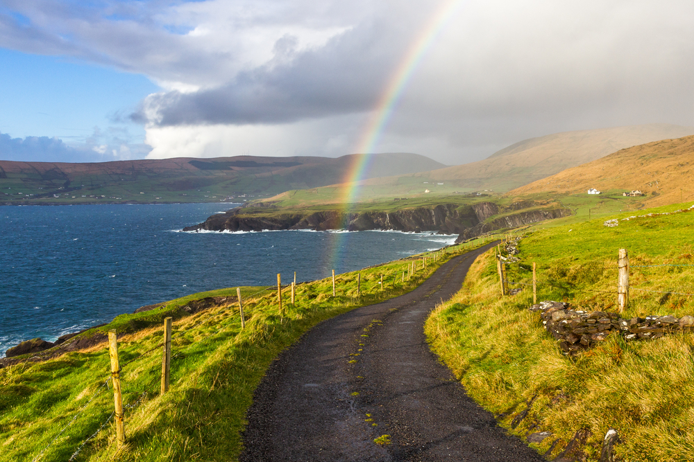 Consider driving when in Ireland