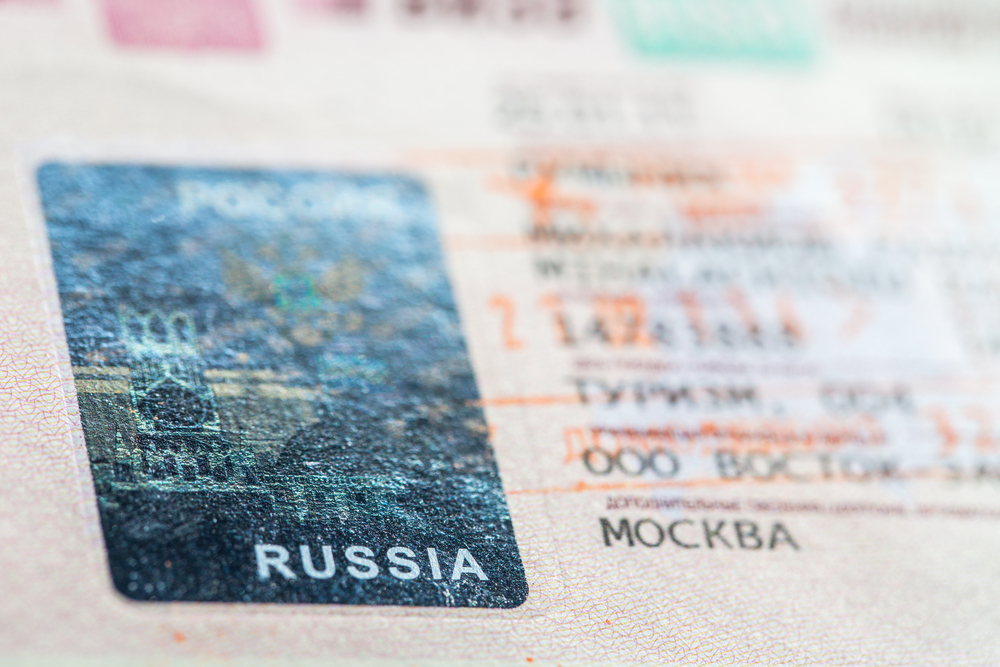 You will need a Russian visa when traveling to Russia