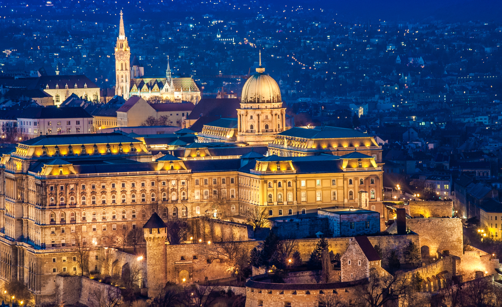 Do not miss seeing the illuminated Buda Castle duering your 2 days in Budapest