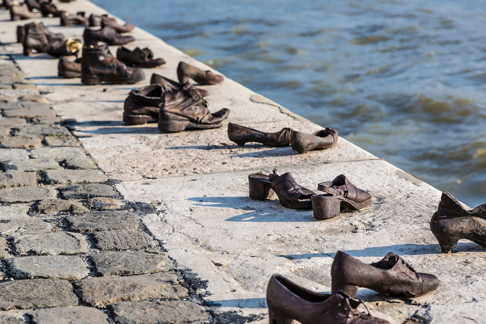 The Shoes on the Danube is a somber monument