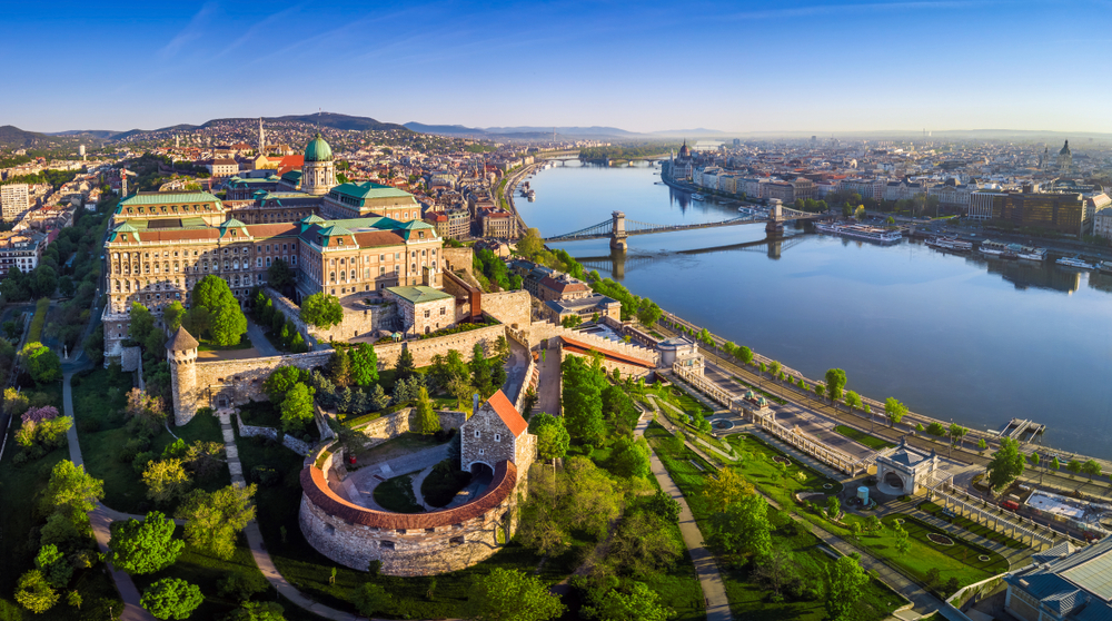 Castle Hill is a must see on your one day in Budapest