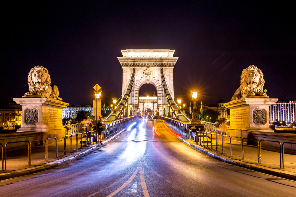 One day in Budapest should include the Chain Bridge