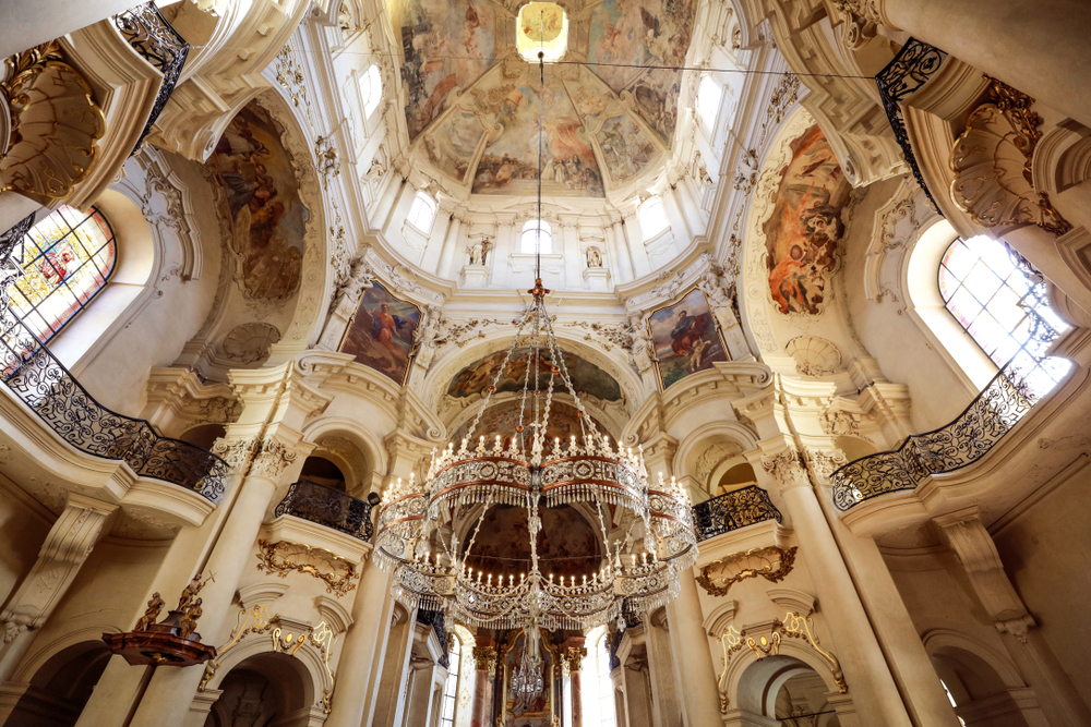 When traveling to Prague, look forward to seeing Baroque architecture