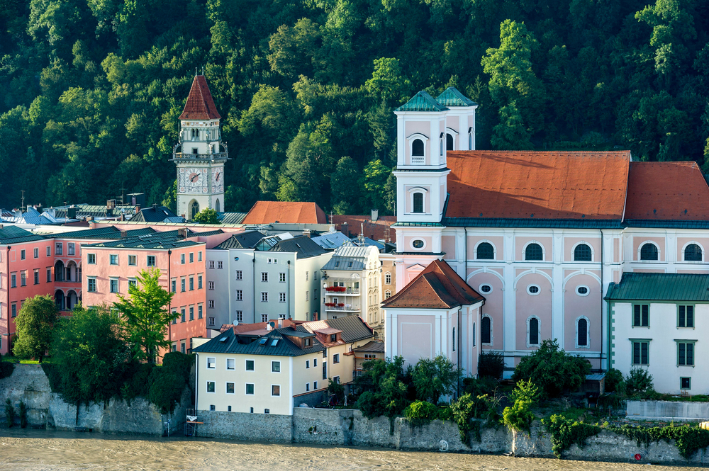 Passau Germany panoramic views make such a wonderful backdrop