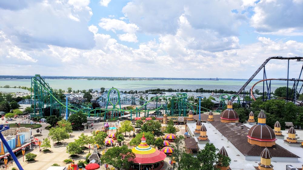 Cedar Point is one of the best weekend getaways in Ohio
