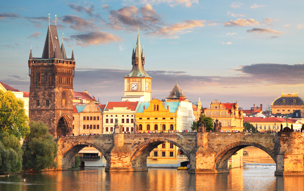 The Charles Bridge is the Oldest in Prague