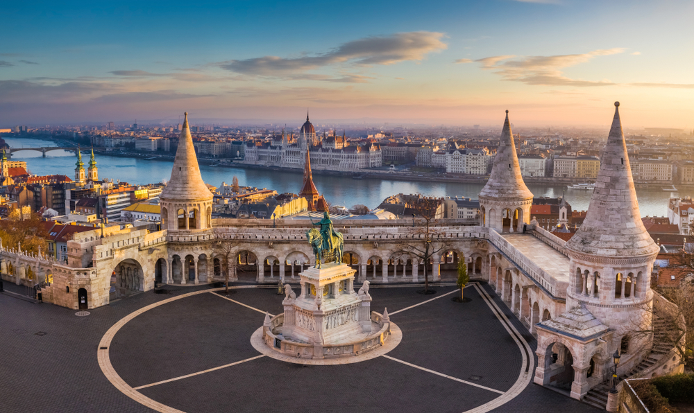 Fisherman's Bastion is a great location to see when traveling to Budapest