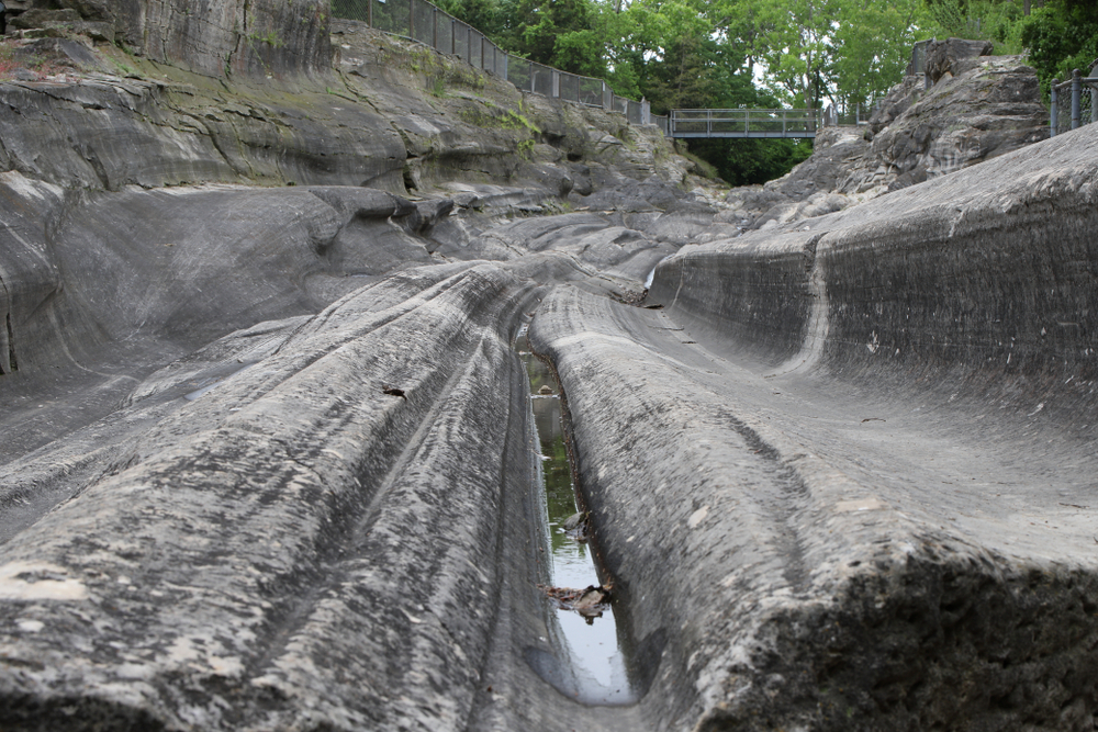 Seeing the glacial slits on Kellye's Island makes for one of the most spectacular weekend getaways in Ohioi