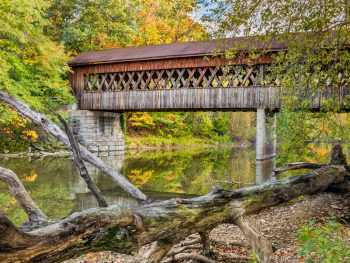 Covered bridges abound in Ohio