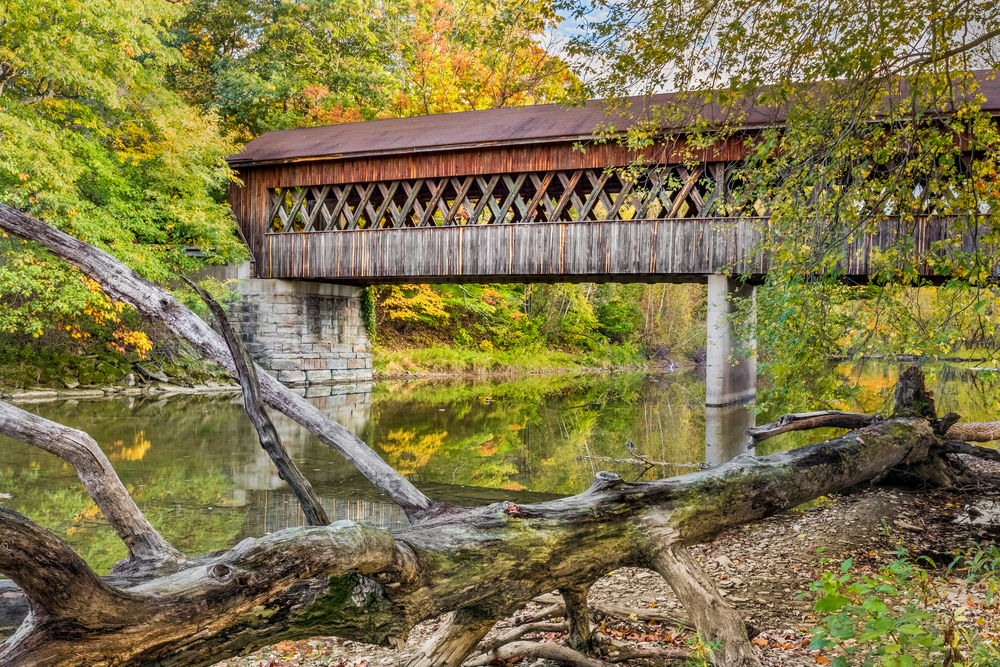 Covered bridges abound in Ohio
