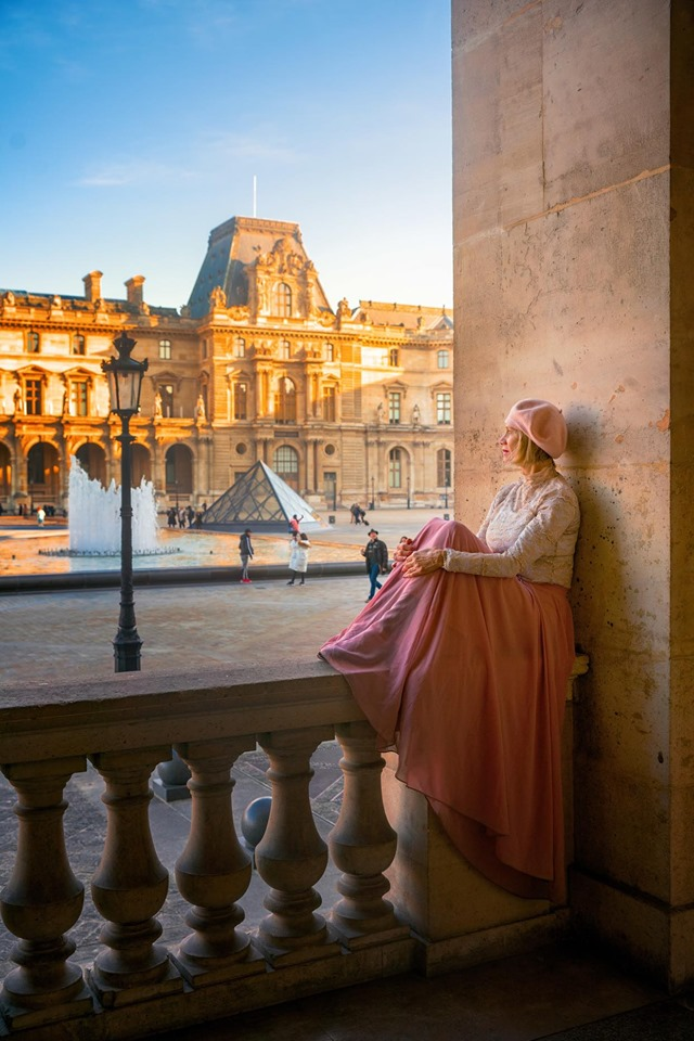 Instagrammable places in Paris include the Louvre