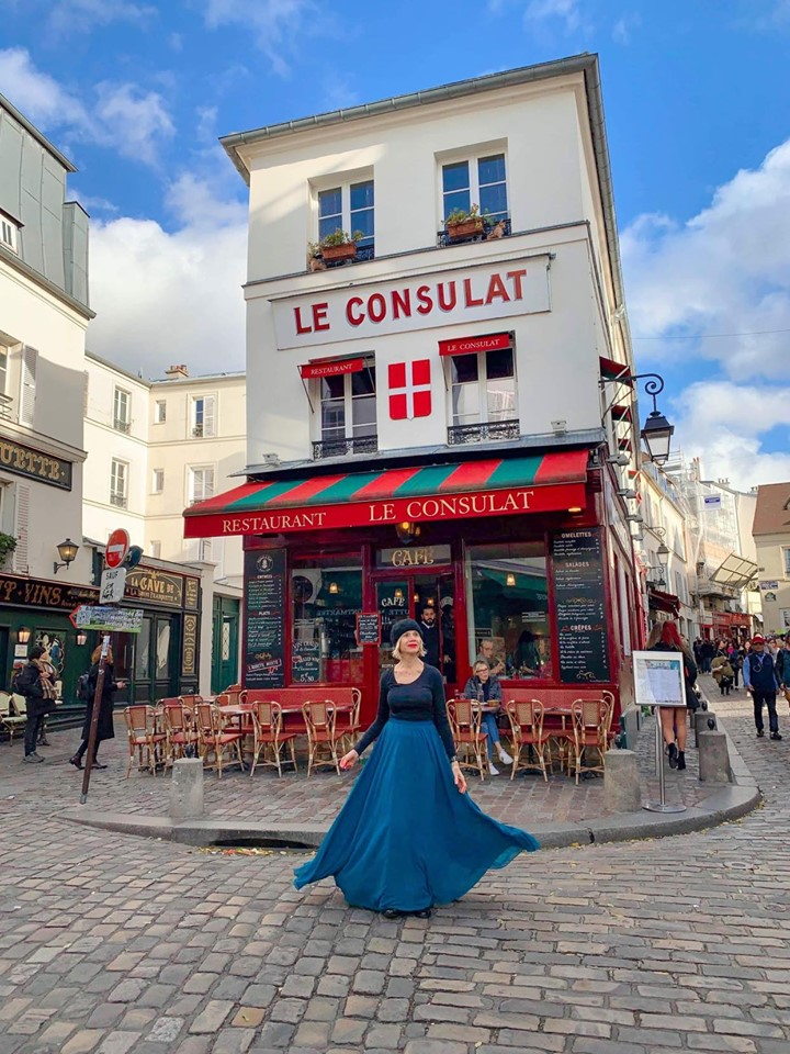 Montmartre district of Paris is a popular Paris Instagram spot