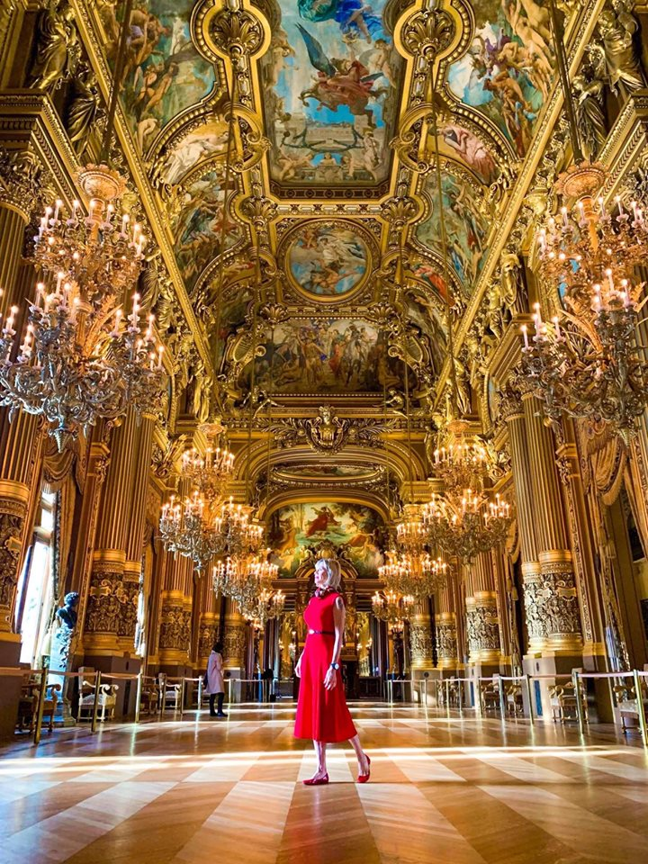 Opera Garnier Gold Room