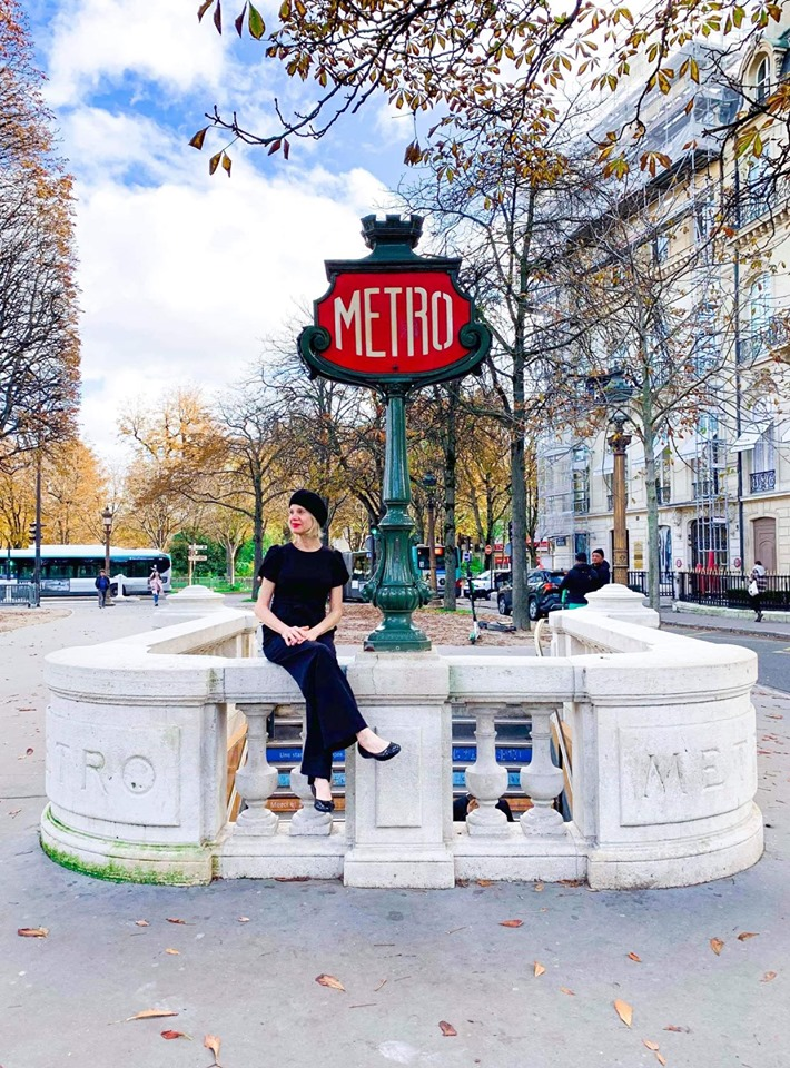 Paris subway stations are so instagrammable