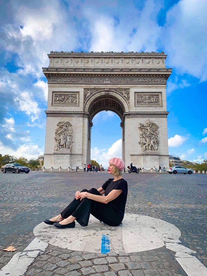 Arc de Triomphe Paris is a great instagram spot