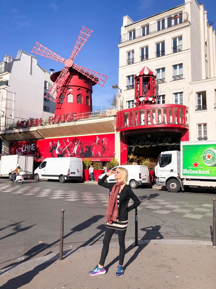 The iconic Moulin Rouge is popular Paris instagram spot