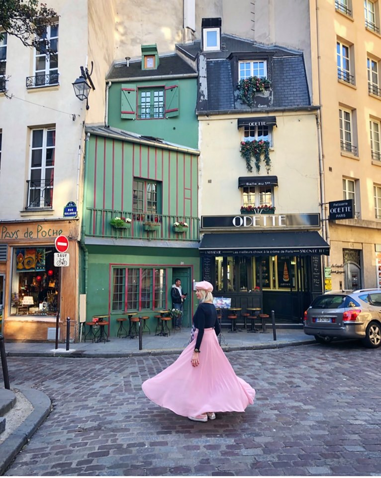 Odette is one of the best instagrammable places in Paris